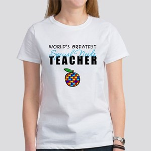 Worlds Greatest Special Needs Teacher Women's T-Sh