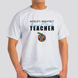 Worlds Greatest Special Needs Teacher Light T-Shir