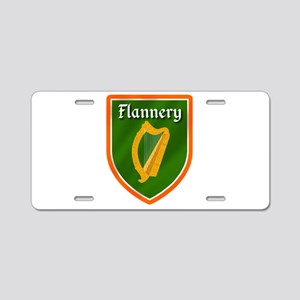 Flannery Aluminum License Plate