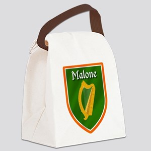 Malone Family Crest Canvas Lunch Bag