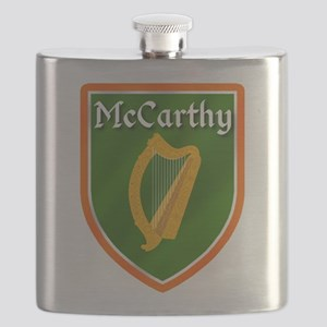 McCarthy Family Crest Flask