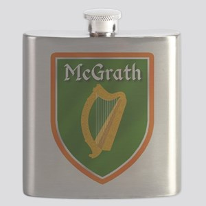 McGrath Family Crest Flask