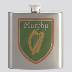 Murphy Family Crest Flask