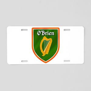 OBrien Family Crest Aluminum License Plate