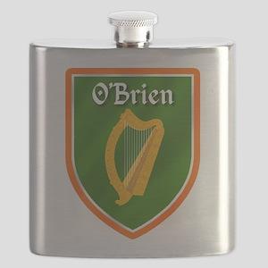 OBrien Family Crest Flask