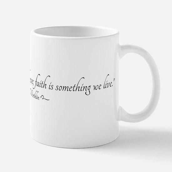 Faith Quote Mugs