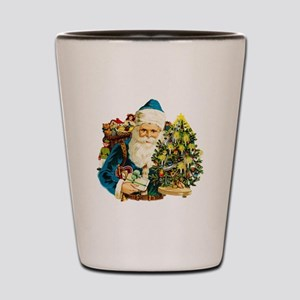 Jolly Old Saint Nick Shot Glass