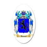 Abascal 35x21 Oval Wall Decal