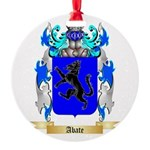 Abate Round Ornament