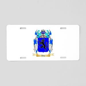 Abba Aluminum License Plate