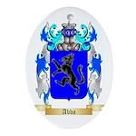 Abba Ornament (Oval)