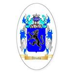 Abbado Sticker (Oval 50 pk)