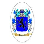 Abbatelli Sticker (Oval 10 pk)