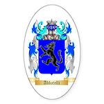 Abbatelli Sticker (Oval 50 pk)