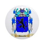 Abbatelli Ornament (Round)