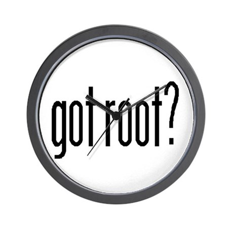 got root? Wall Clock
