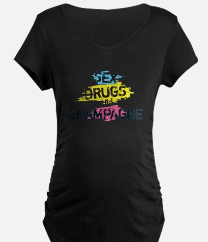 Sex Drugs And Champagne T-Shirt