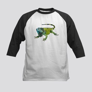 Oh How Iguana Go Home Kids Baseball Jersey