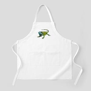 Oh How Iguana Go Home Apron