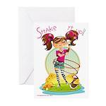Shake it up! Greeting Cards (Pk of 10)