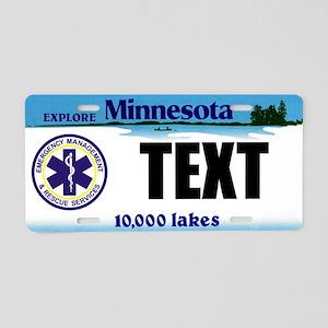 Minnesota EMS Custom License Plate