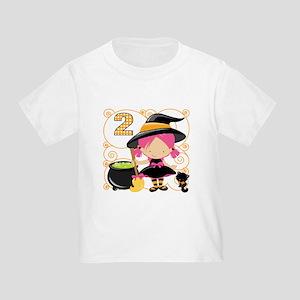 Girls Halloween 2 Toddler T-Shirt