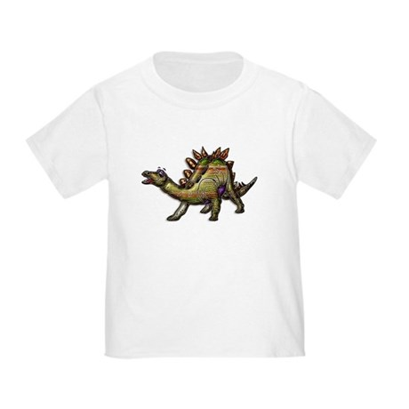 Scaly Rainbow Dinosaur Toddler T-Shirt