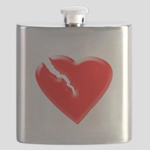 Broken Heart Flask