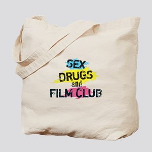Sex Drugs And Film Club Tote Bag