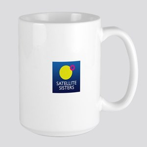 Satellite Sisters Orbit Logo Mugs