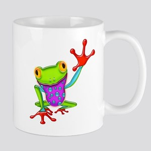 Waving Poison Dart Frog Mug