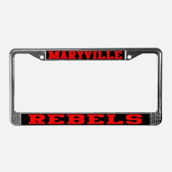 Maryville Rebels License Plate Frame