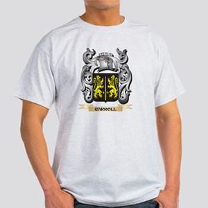 Carroll Family Crest - Carroll Coat of Arm T-Shirt
