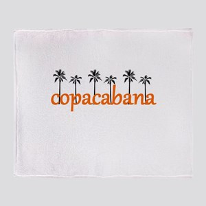 copacabana Throw Blanket