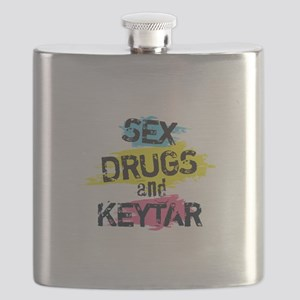 Sex Drugs And Keytar Flask