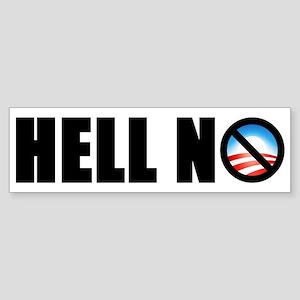 """""""Hell No!"""" Bumper Sticker"""