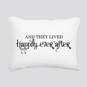 And they lived happily ever after black Rectangula