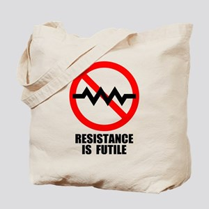Resistance is Futile Tote Bag