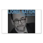 LIONEL NATION Sticker (Rectangle 50 pk)