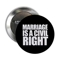 MARRIAGE / CIVIL RIGHT Button