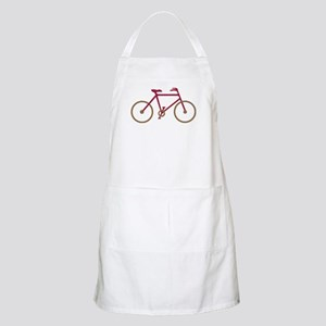 Red and Dark Gold Cycling Apron