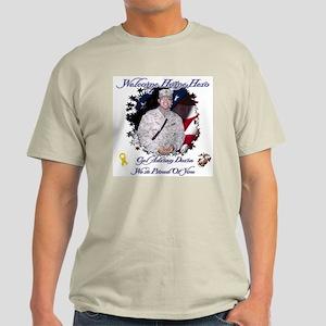 Welcome Home Hero! Ash Grey T-Shirt