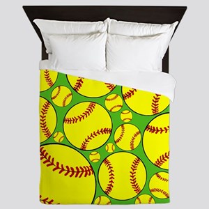 Softball Queen Duvet