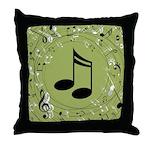 Music Teacher Musician Gift Throw Pillow