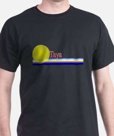 Taya Black T-Shirt