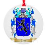 Abbe Round Ornament