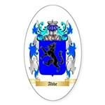 Abbe Sticker (Oval 50 pk)