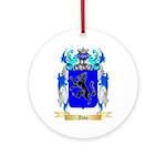 Abbe Ornament (Round)