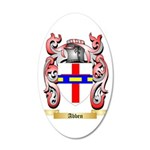 Abben 35x21 Oval Wall Decal
