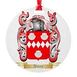 Abbey Round Ornament